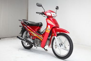 China Red Color Super Cub Bike Single Cylinder Anti - Skid Tire Low Energy Consumption supplier