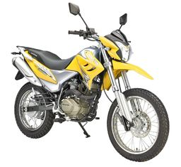 China Dirt 200CC GY Gas Powered Motor Bikes Single Cylinder 4 Stroke Dirt Motos supplier