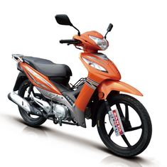 China Orange 110CC Super Cub Moped Front Turning Light 120kg Max Load Capacity supplier