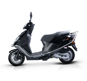 China Comfortable Seat Gas Moped Motor Scooter Durable Disk / Drum Brake System supplier