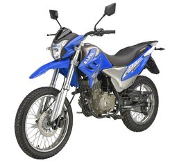 China 150CC Onroad Offroad Dirt Bike Air Cooled Engine Disc / Drum Brake Long Lifespan supplier