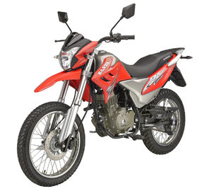 China Lightweight Off Road Motorcycle , 4 Stroke Off Road Bikes Inverted Shock Absorbers supplier