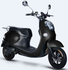 China Black Color Electric Moped Scooter , 60V / 72V Electric Scooter Bike With Pedals supplier