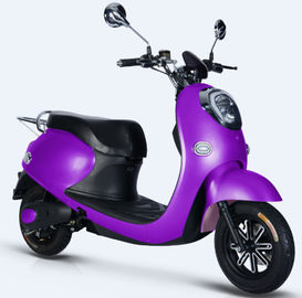 China Strong Headlight Electric Moped Scooter , No Licence Electric Scooter Bike 220V supplier