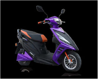 China Electric Bike Moped  Battery Driven Scooter 60V / 72V 20AH Lead Acid Battery supplier