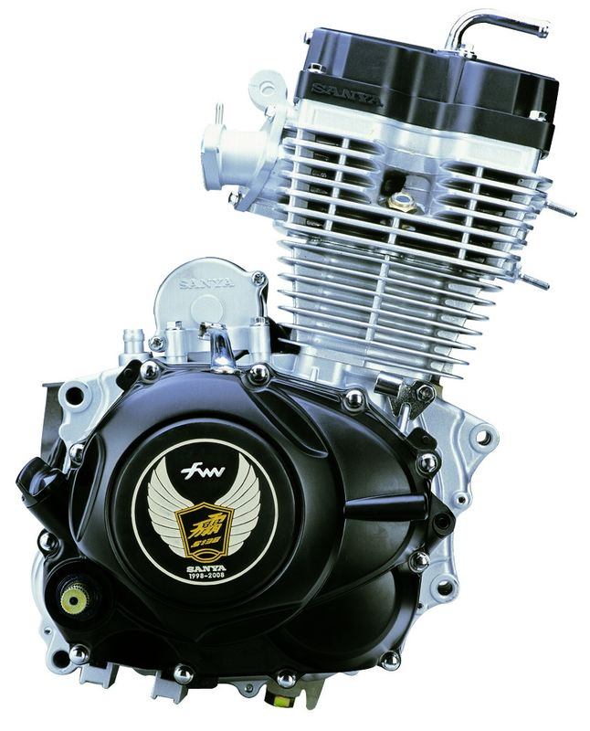 OHV Motor Motorcycle Crate Engines CG150 Gasoline Fuel CDI