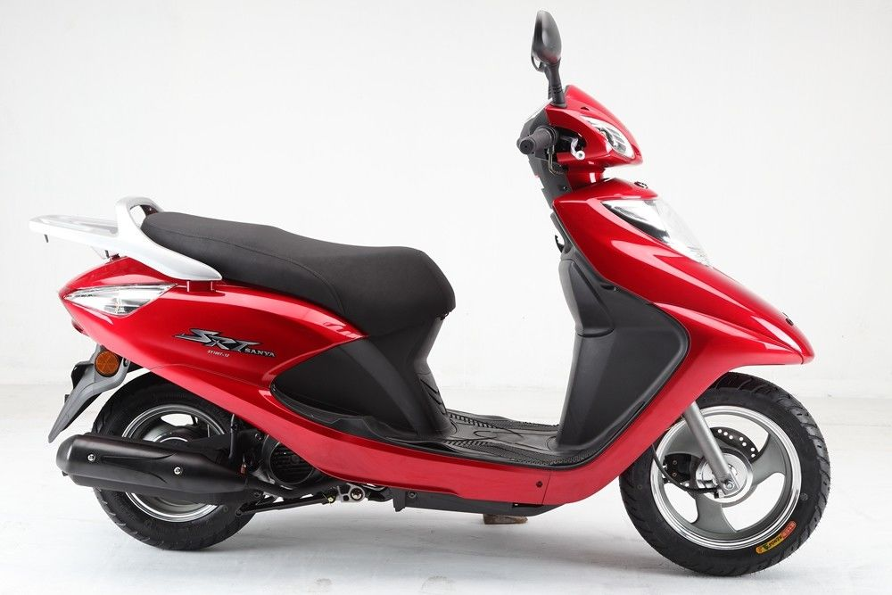 Two Wheel Gas Motor Scooter 100CC Moped Bike Low Energy Consumption