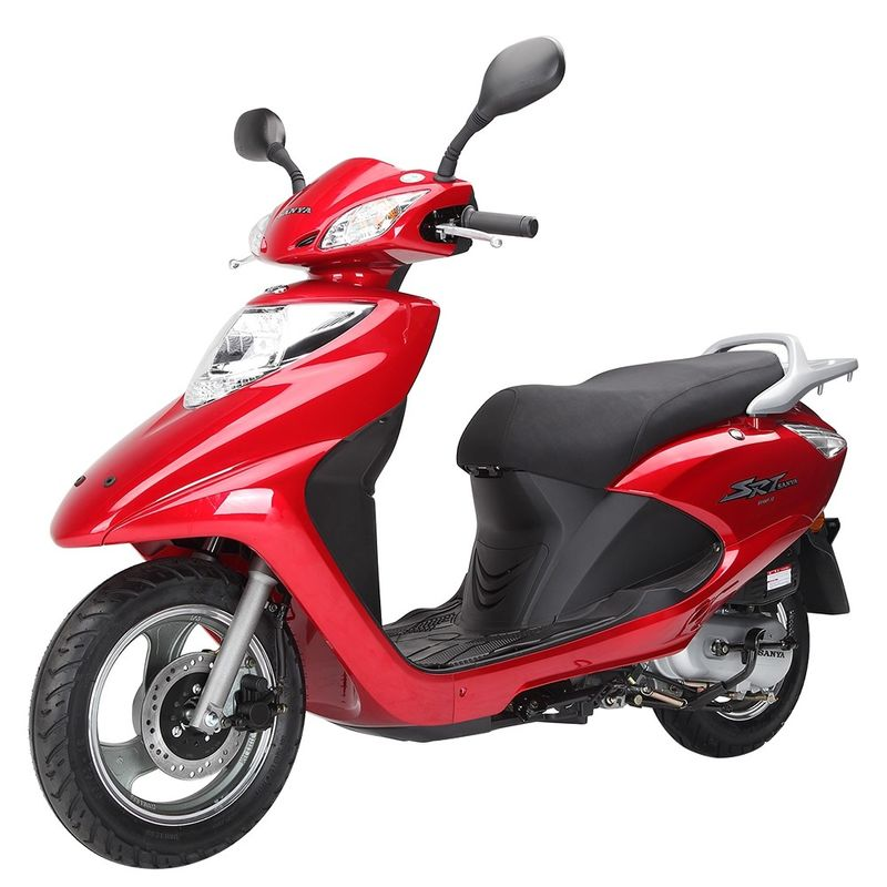 Energy Saving Gas Powered Moped Scooters For Adults 2 8 00km