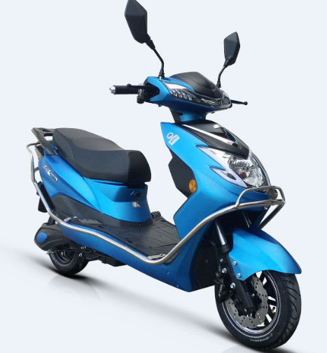 Steel Frame Pedal Assisted Electric Scooter / Moped 800W