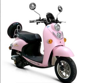 Girls Pink Electric Moped Scooter For Kids , Electric Ride On Scooter / Moped