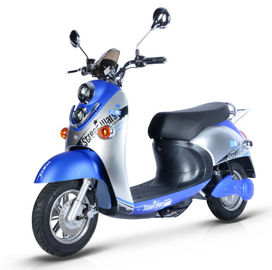 Steel Frame Electric Moped Road Legal 60V / 72V Battery Voltage 45km/h Max Speed